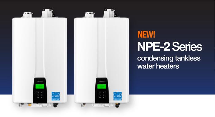 Navien NFB-C Commercial Condensing Fire Tube Boiler