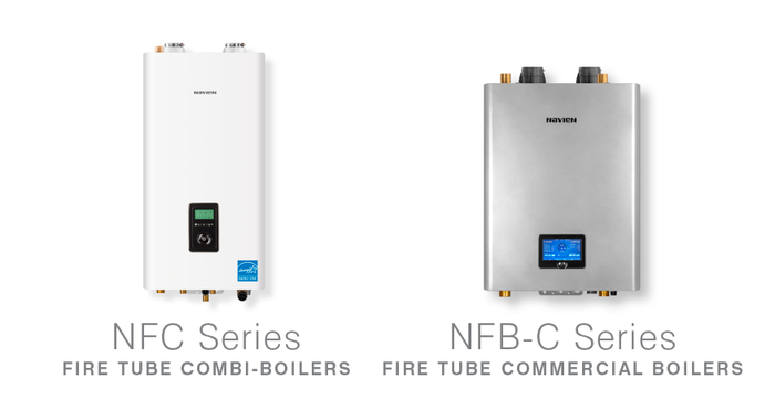Navien introduces two new boiler series